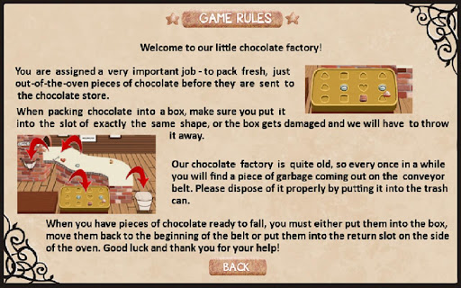 Chocolat::By SNT Games