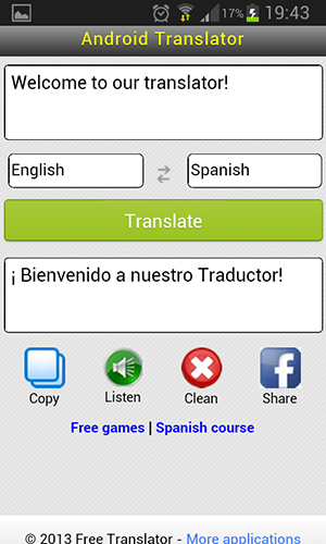 Free Translate::By Recommended