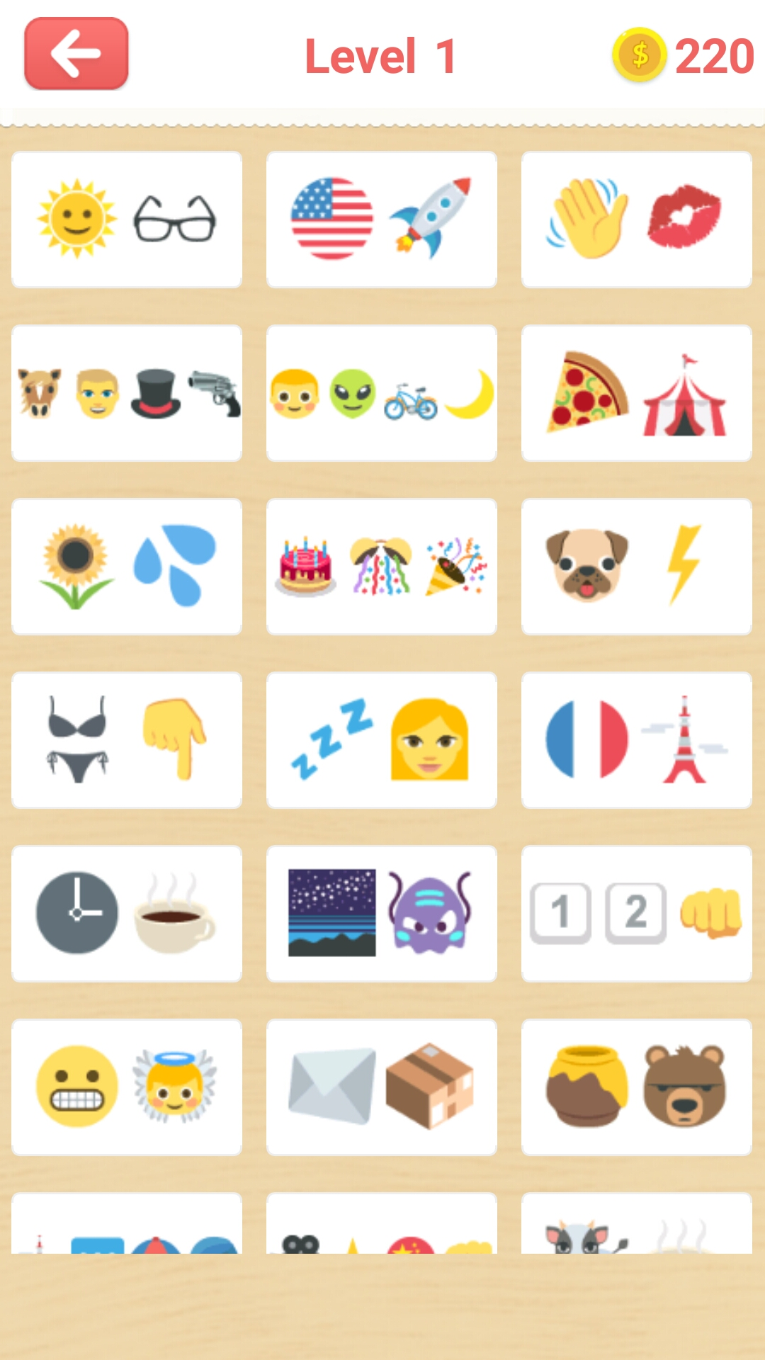 Guess Emoji The Quiz Game ::By Logo Quiz - Switch Color - 4 Pics 1 Word