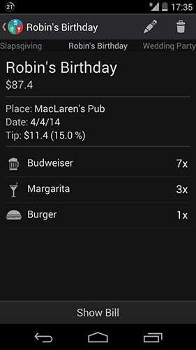 Restaurant Expense Manager::By Jan Rychtar