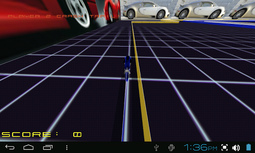 TRON LIGHTCYCLE ROCK RACE GAME::By Mind Trick Software