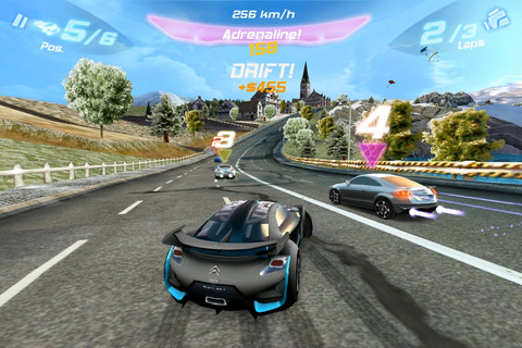 Asphalt 6::by Gameloft