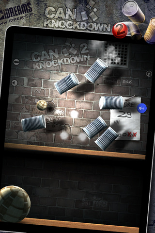 Can Knockdown 2::by Infinite Dreams