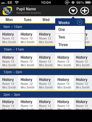 The School App::By The School Application