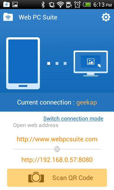 Web PC Suite::By GeekSoft