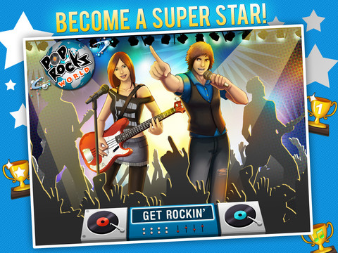 POP ROCKS WORLD HD - MUSIC RPG GAME::By Swag Soft LLP