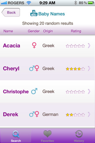 Baby Names and Meanings - Popular Baby Names Generator for Boys and Girls::By Tsavo