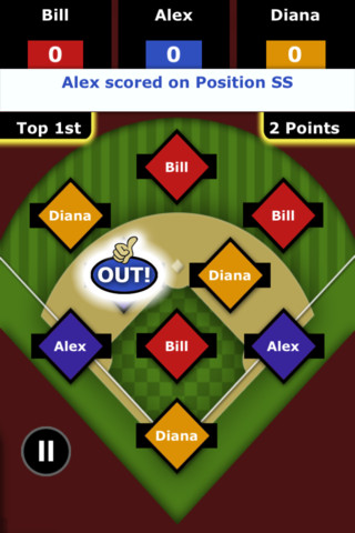 Baseball Outs::By PlusSide, Inc.