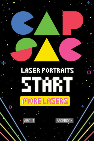 Cap-Sac Laser Portraits - '80s Fun Time!::By BumbleCat Games