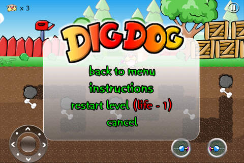 Dig Dog Out::By Xing Mobile B.V.