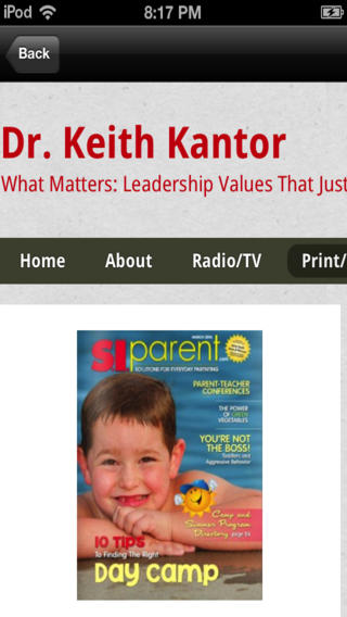 Keith Kantor::By Qbiki Networks