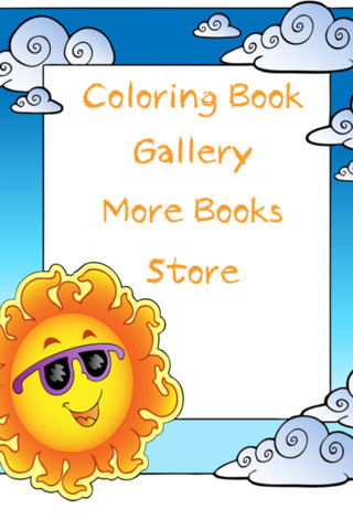 Kids Coloring Book!::By Peep Software