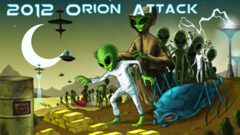 Orion Attack pocket::By Tommaso Lintrami