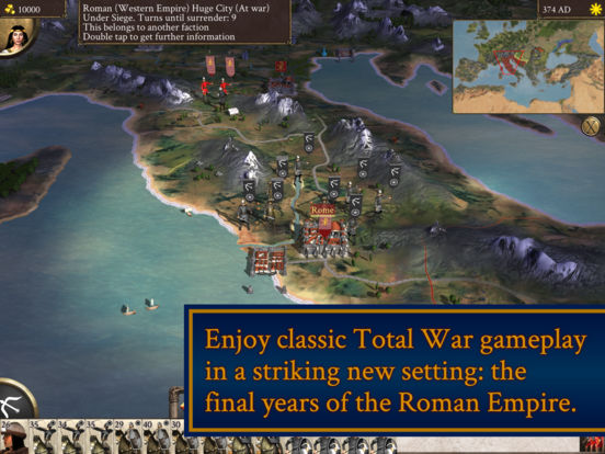 ROME: Total War - Barbarian Invasion::By Feral Interactive Ltd