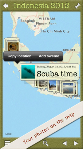Swemos - Create photo albums and travel journals::By Antonius Knoflook