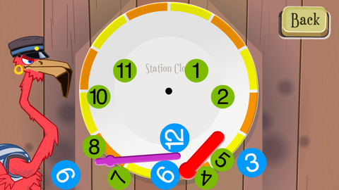 Telling time for kids – learn to tell time with the interactive Fun Clock::By Mingoville Education