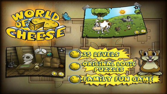 World of Cheese HD - Christmas Edition - Great Puzzle Adventure For Kids and the Whole Family - Free Download::By Alda Games s.r.o.