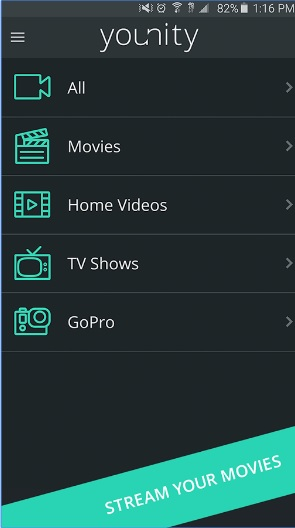 Younity – Home Media Server App::By Entangled Media Corp.