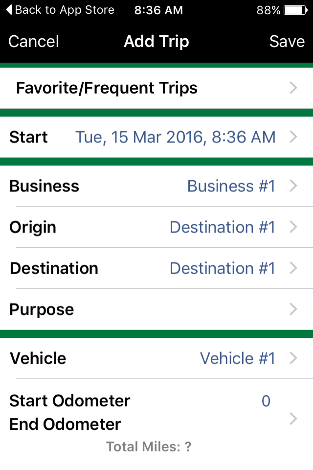 MileBug - Mileage Log & Expense Tracker for Tax Deduction App::By Izatt International