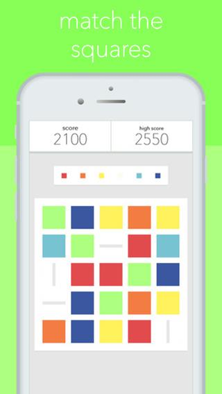 Squares: matching with a twist::By Little Tank Apps LLC