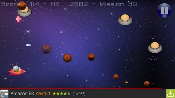 Thelidia Asteroid Attack II::By Thelidia